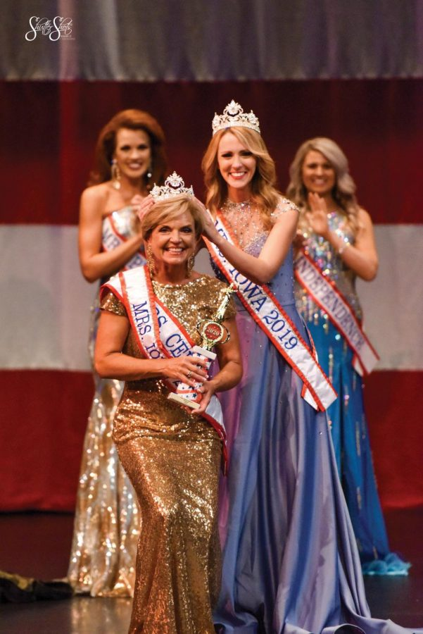 On Sept. 20, UNI student Glynis Worthington was crowned Mrs. Iowa. Worthington's goal is to make a difference in the way people see physical activity in those over 50.