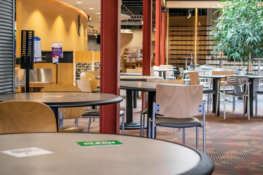Dining centers Piazza and Rialto continue to re-evaluate safety procedures while still providing high-quality dining.