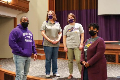 """UNI Thrive and the Panther Promise Academy hold """"First Year Friday"""" for first year and transfer students looking for advice and tips on how to adjust to life at a new school."""