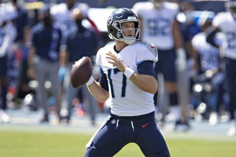 Tennessee Titans quarterback Ryan Tannehill has led his team to a 5-0 start so far this season.