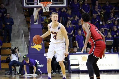 UNI guard AJ Green was picked as the preseason MVC Player of the Year for the upcoming season. Green won the award last year.