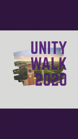 The UNIty walk lead by student-athletes will be held on Friday morning at sunrise.