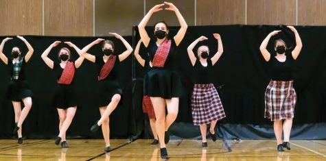 Members of the IDT perform a Dutch folk dance, musical theater and other dances at their last performance of the semester.