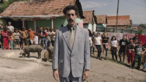 "Film Critic Hunter Friesen reviews the new film ""Borat Subsequent Moviefilm."""