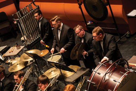 The UNI School of Music will be presenting their percussion ensembles concert virtually on Thursday, Nov. 19.