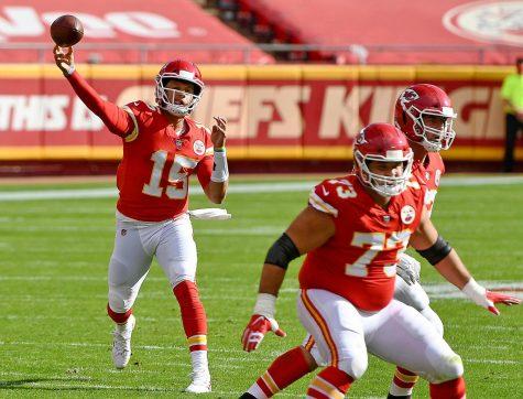 Kansas City Chiefs quarterback Patrick Mahomes looks like the frontrunner for the MVP race so far this season.