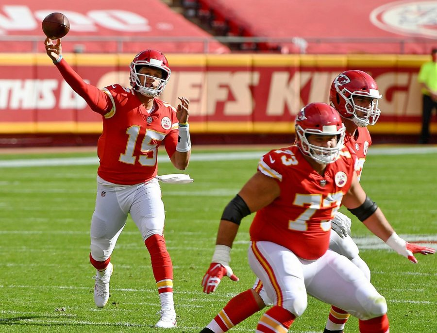 Kansas City Chiefs quarterback Patrick Mahomes looks like the frontrunner for the MVP race so far this season.