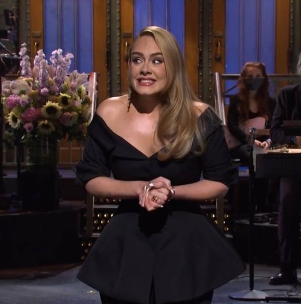 Adele hosted SNL on Oct. 24.