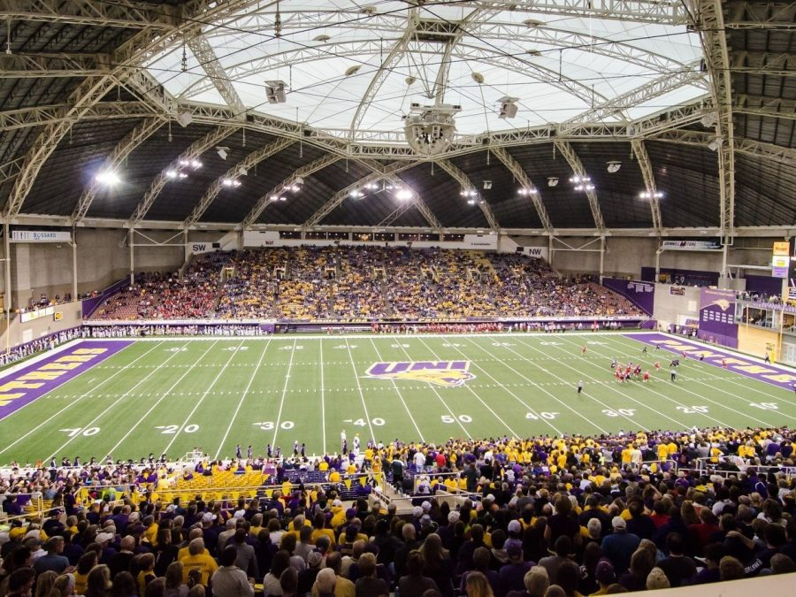 The UNI-Dome has hosted high school football championships since 1976, with this year having the site host its most unique set of games yet.