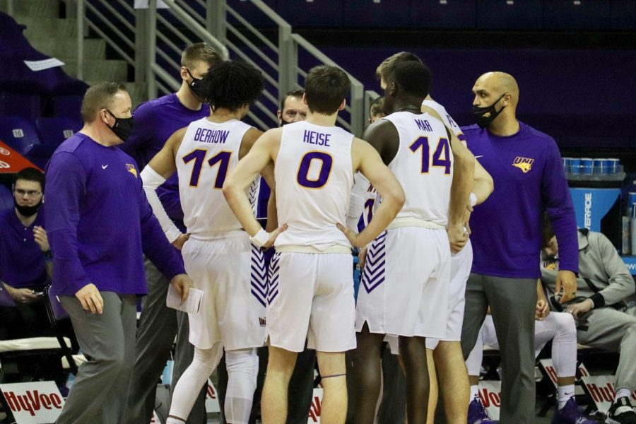 UNI defeated Southern Illinois 74-62 on Saturday in the first game of a two game matchup between the two teams. They played again on Sunday Jan. 31.