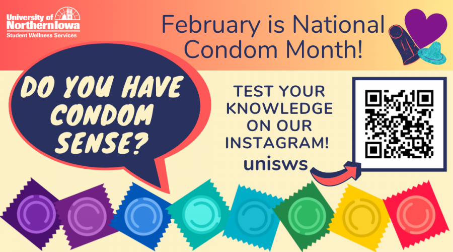 Student Wellness Services discusses the importance of sexual health and awareness during National Condom Month