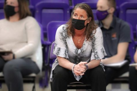 UNI head volleyball coach Bobbi Peterson earned her 510th career win last Sunday against Evansville. She became the winningest volleyball coach in Missouri Valley Conference history with the win.