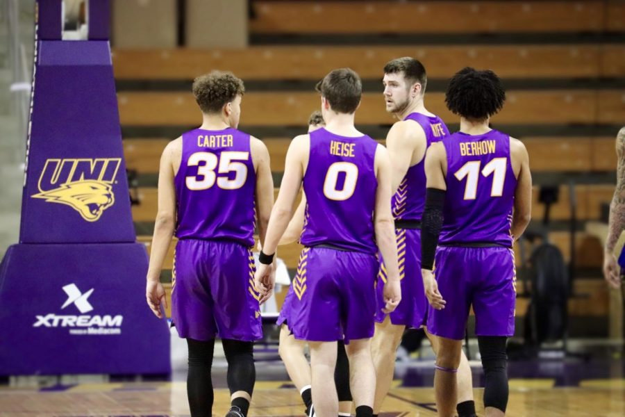 The Panther men's basketball team fell in their final home game of the 2020-21 season, losing in-state rival Drake by the score of 77-69.