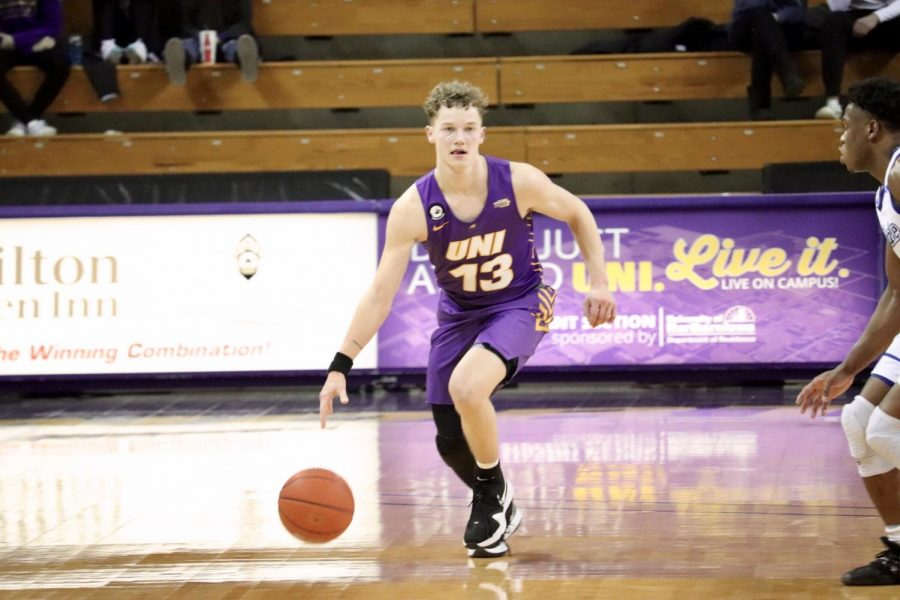 UNI's Bowen Born scored 12 points on Friday and a team-high 21 points on Saturday. Both games were victories for the Panthers, who will now match up with Illinois State again on Thursday for the MVC tournament.