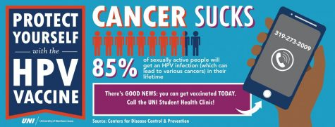 UNI Student Wellness Services provides information on HPV, its symptoms and the available of vaccines on UNI