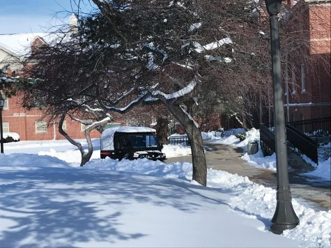 A stretch of subzero temperatures coupled with bitterly cold windchills caused the cancellation of in-person classes for the third time this spring.