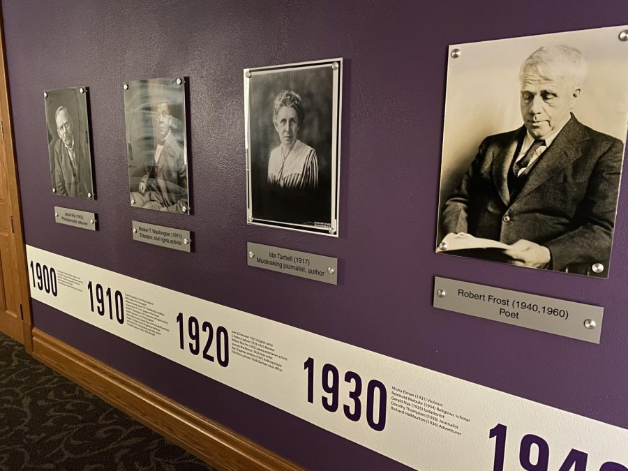 The Lang Hall auditorium received a new showcase of influential speakers.