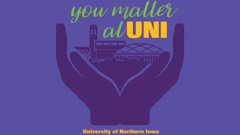 You Matter at UNI week adapts and take place amidst the COVID-19 pandemic.