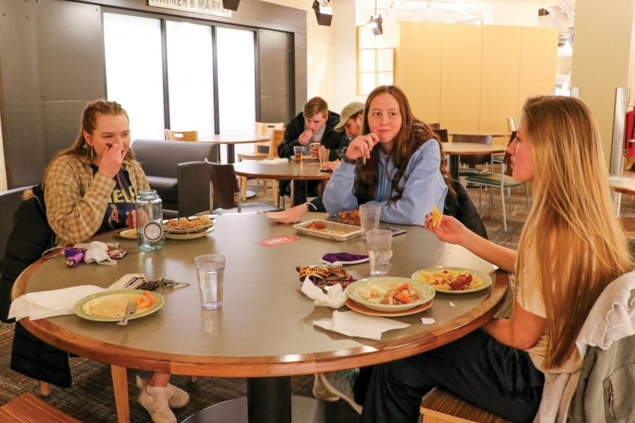Students speak out about not being satisfied with the options available in the dining hall.