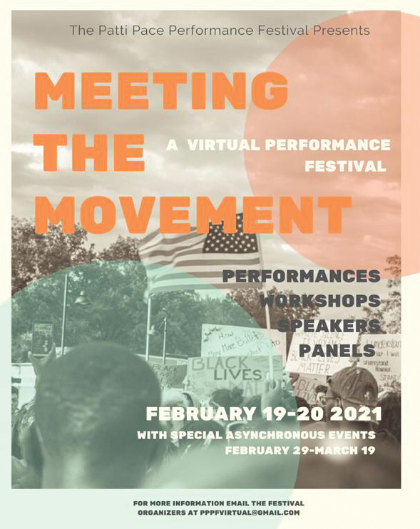 All are encouraged to attend the virtual Patti Pace Performance Festival this weekend.