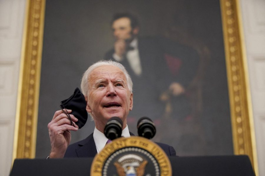 Columnist Mohammed Rawwas examines the Biden administration's progress one month into office.