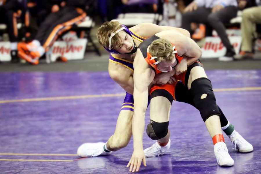 This past weekend the Panthers wrestled in the 2021 Big 12 Wrestling Championship.