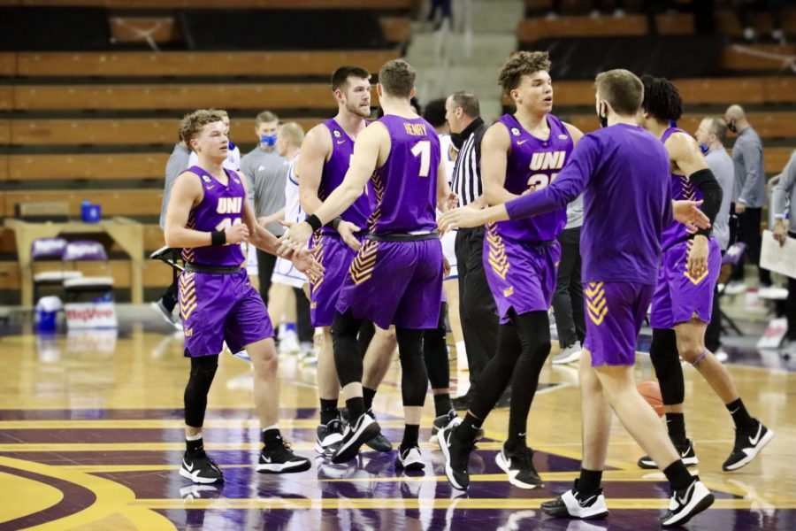 Following their first-round victory in the Missouri Valley Conference tournament on Thursday in St. Louis, UNI's men's basketball season was cut short due to COVID-19 complications.