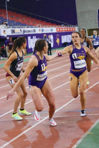 Several of the UNI women finished in all-conference positions at the 2021 Missouri Valley Conference Indoor Track and Field Championship meet.