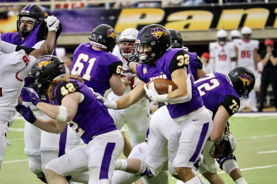 Playing shorthanded without their starting quarterback, the Panthers fell to Missouri State 13-6 last Saturday in the UNI-Dome.