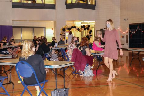 This year the Dance Marathon Black Tie Affair took place in the WRC to align with COVID-19 guidelines.