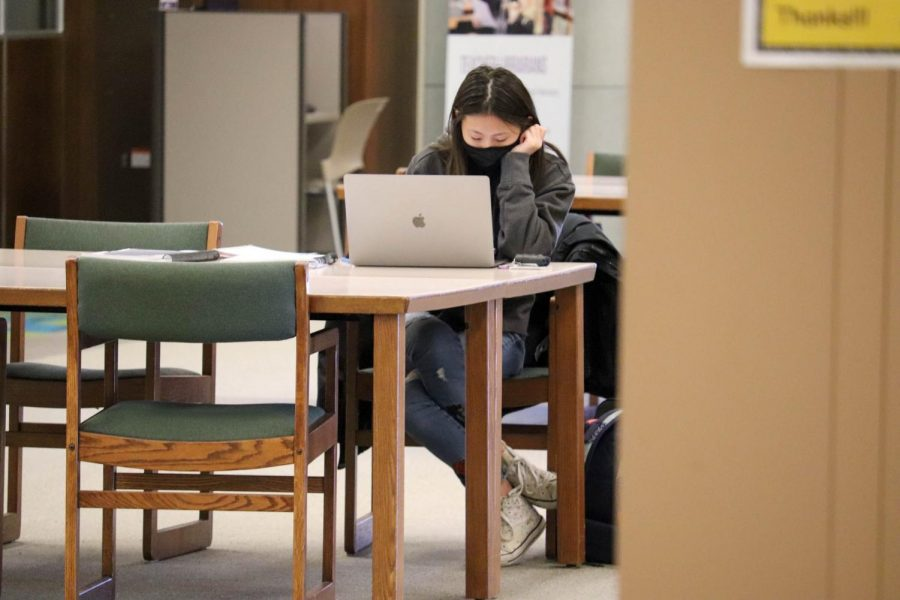 With no spring break, some UNI students are feeling the strain of a condensed semester and wishing for