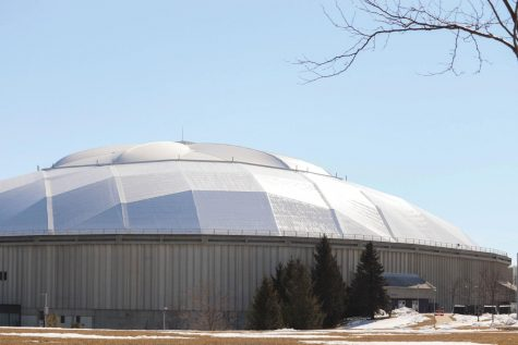 The UNI-Dome is set to be the location of three separate in-person commencement ceremonies this spring.
