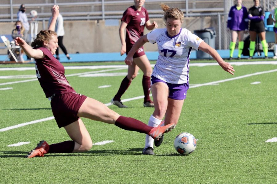 The UNI women's soccer team defeated Valparaiso 1-0 on Senior Day this past weekend.