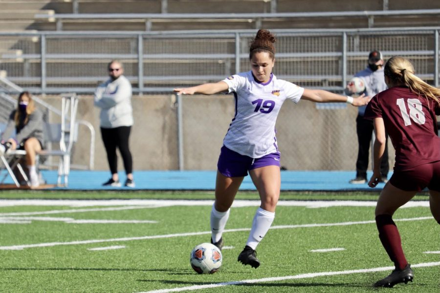 UNI's women soccer team picked up their first win of the season last Saturday, 1-0 against Missouri State.