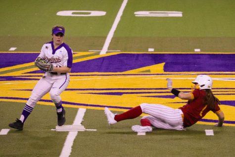 UNI softball had a promising start at Saturday