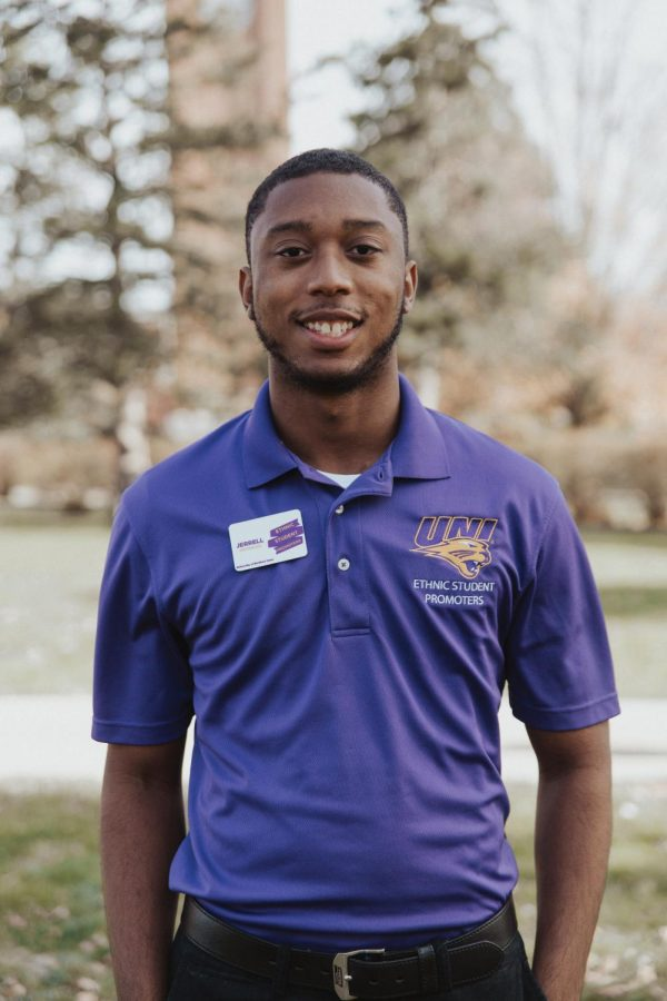 UNI student Jerrell Bates has been commended by the Newman Civic Fellowship for his leadership and impact on his community.