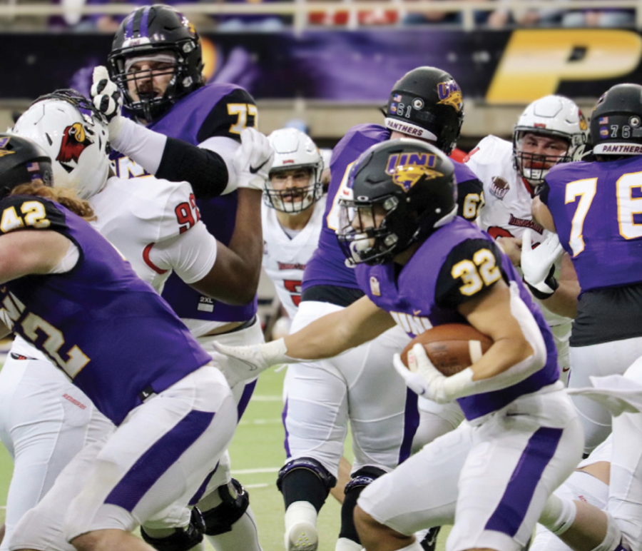 UNI falls short of a victory against SIU in Saturday's game.