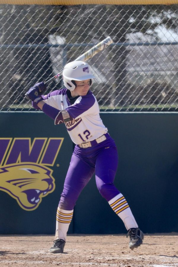 UNI's Sammy Bunch has led the Panther offense the whole season, breaking her own school record for most home runs in the regular season with 19.