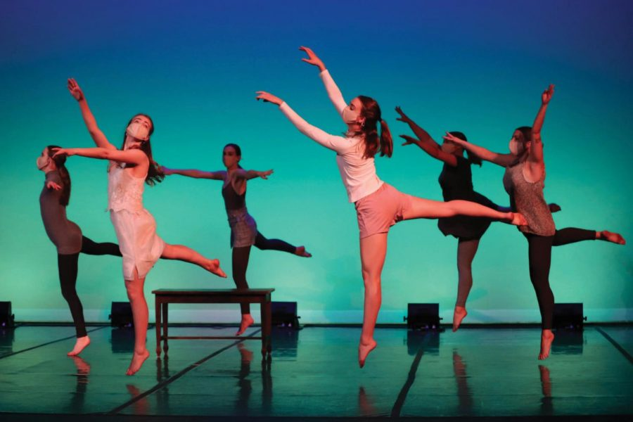 Orchesis members choreographed and performed a variety of artistic pieces at their annual gala on April 9 and 10.