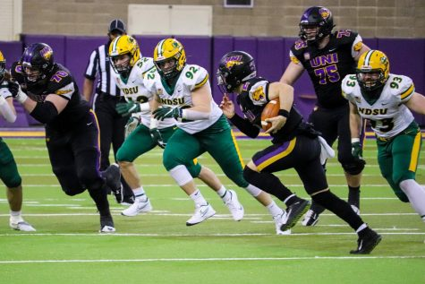 UNI dropped their final home game of the spring season to North Dakota State on Saturday, 23-20. The Fall season is scheduled to being on Sept. 3, 2021, against Iowa State.
