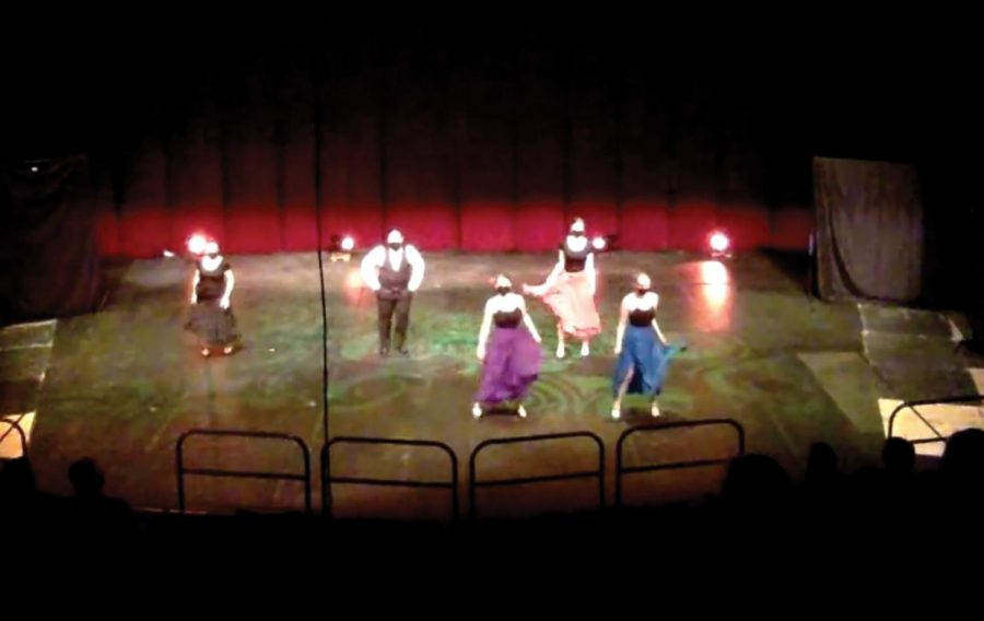 The IDT dance company hosted their spring 2021 shows on April 17 and 18. The show boasted a mix of folk, studio and ballroom style dances.