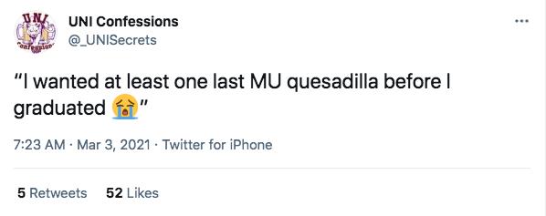Maucker Union will bring back Quesadilla Fridays this Friday.