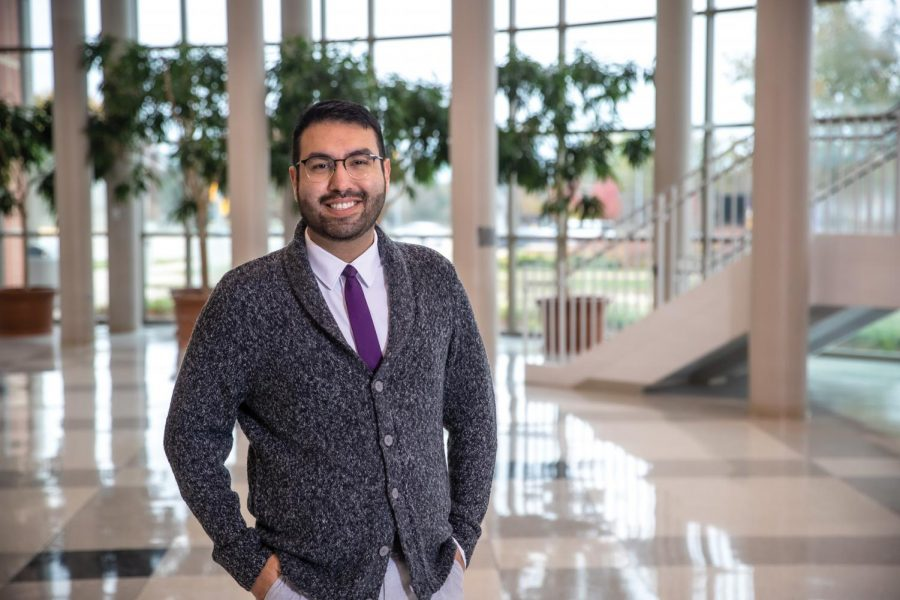 After attending UNI himself, Lizarraga-Estrada decided he wanted to help other multicultural students find where they belong through his role in admissions.