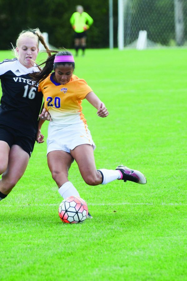 The UNI women defeated Viterbo 6-0 and tied St. Thomas in their two most recent games.