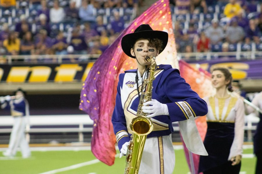 The PMB looks forward to their first home game performance in the UNI-Dome Sept. 18.