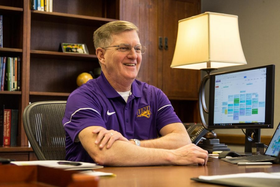 President Mark Nook plans to return to his office Sept. 7 after a back surgery.