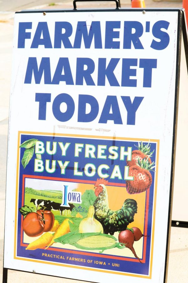 The College Hill Farmers Market offers a variety of fruits and vegetables for the community.