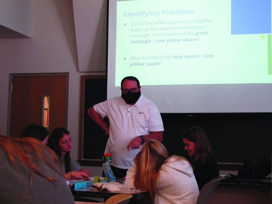 While some professors highly encourage their students to wear masks, others do not mention mask wearing in class.