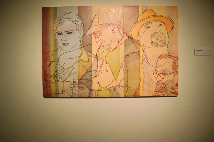 """The """"Present / Tense"""" exhibit is available in the UNI Art Gallery until Sept. 25."""