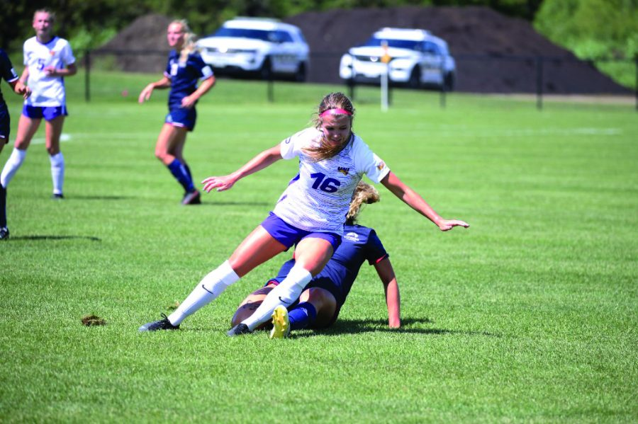 The+UNI+womens+soccer+team+dropped+their+third+straight+match+last+Sunday%2C+falling+1-0+on+the+road+against+South+Dakota.